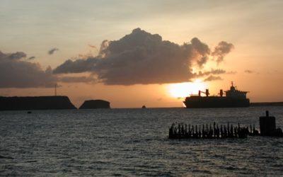 Apra Harbor Sunset