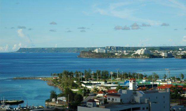 Looking Past Marina to Agana Bay