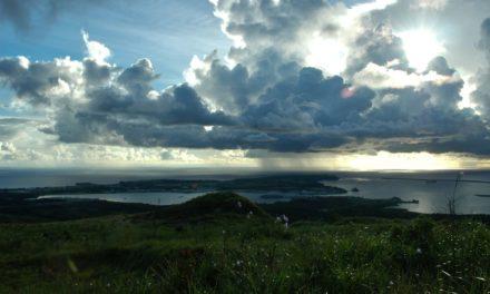 Apra Harbor Distant View