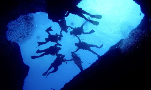 Scuba Diving at Blue Hole