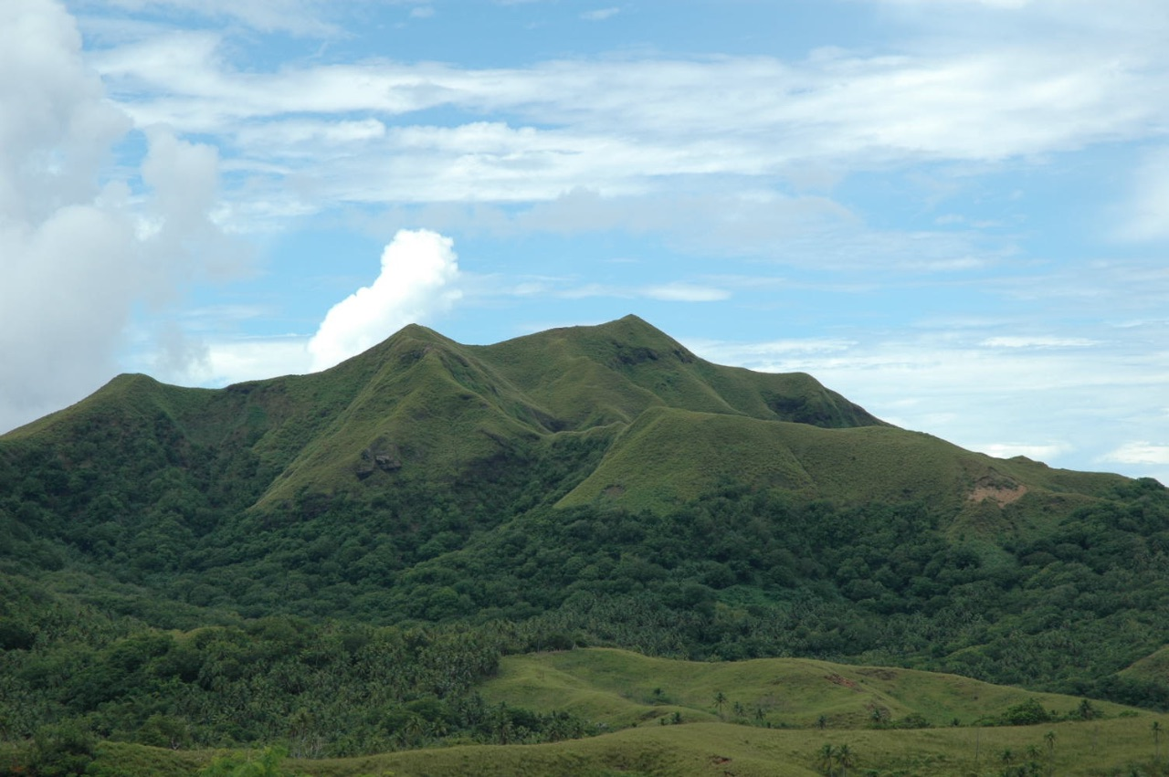 Southern Guam Mountain Photo
