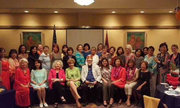 King Moe and Guam Women's Club