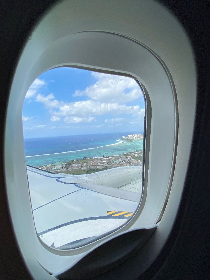 Guam from the air