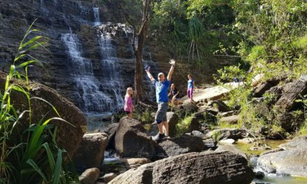 Dr. Scott at Tarzan Falls