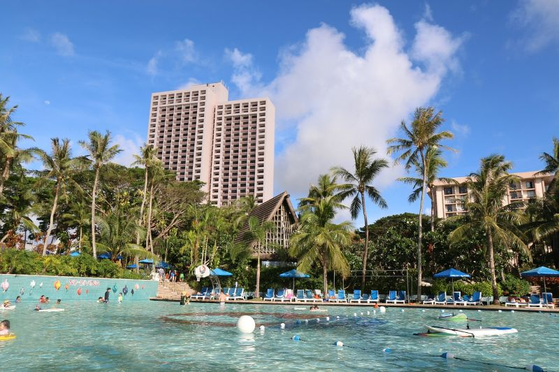 Pool at a Hotel in Tumon, Guam